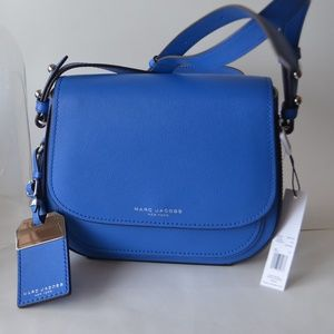 NWT Marc Jacobs  Leather Messenger